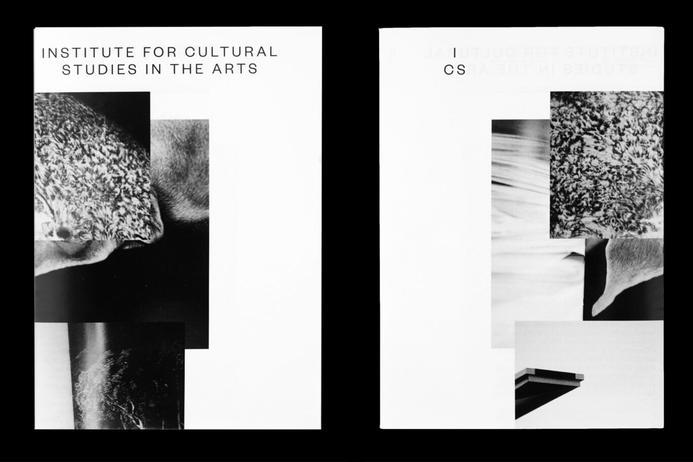 Esther Rieser, ICS, cultural Studies in the arts, ZHdK, visual identity, 2014